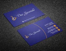 jamshedmafia tarafından Make a business card for musical duo için no 75