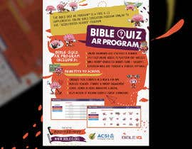 "#26 for Enhance our flyer (for our ""Bible Quiz AR Program"") by mirandalengo"