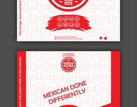 Nro 36 kilpailuun Taco Burger Wrapper Design käyttäjältä sonugraphics01