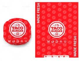 Nro 51 kilpailuun Taco Burger Wrapper Design käyttäjältä khuramja