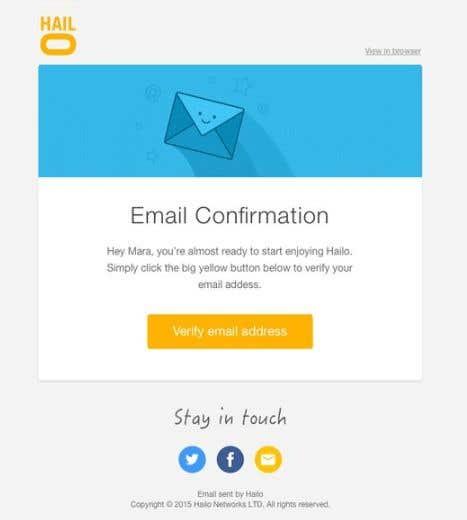 Kilpailutyö #7 kilpailussa Create a reusable E-Mail Template