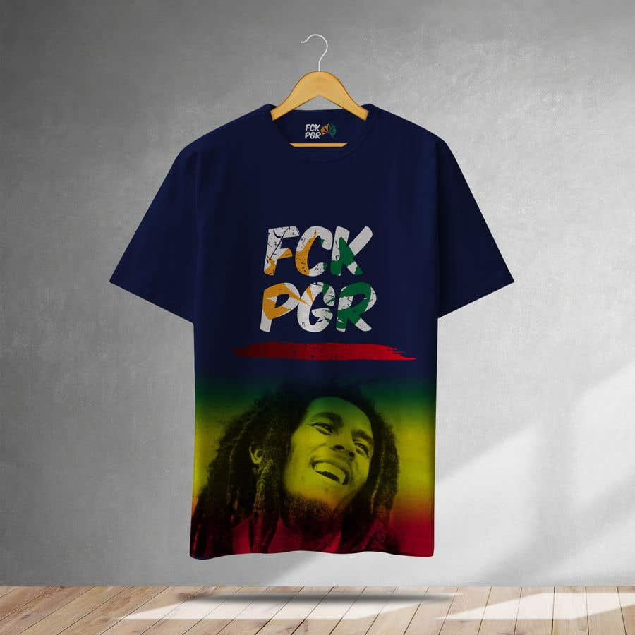 Penyertaan Peraduan #116 untuk Design a T-Shirt with a cool graffiti style for 2 three letter words.