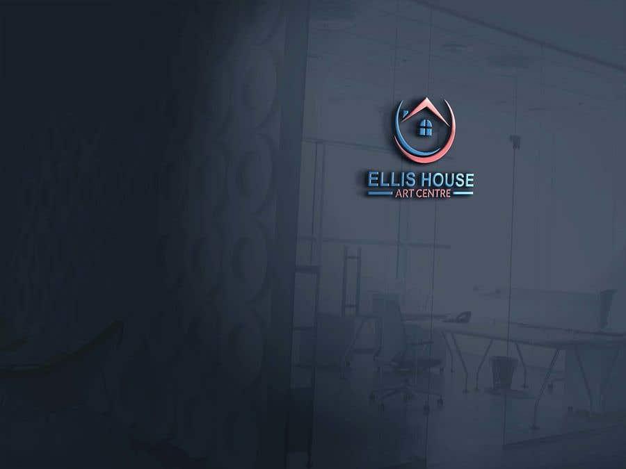 """Intrarea #322 pentru concursul """"Logo Design - Ellis House Art Centre"""""""