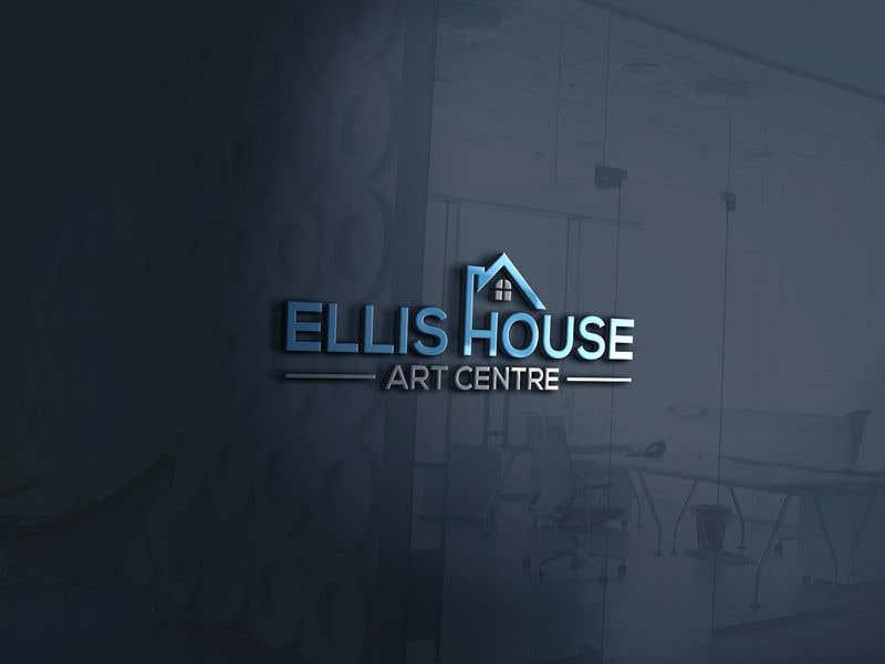 """Intrarea #314 pentru concursul """"Logo Design - Ellis House Art Centre"""""""