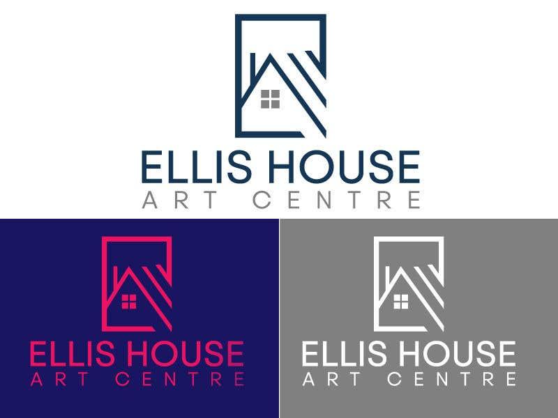 """Intrarea #                                        315                                      pentru concursul """"                                        Logo Design - Ellis House Art Centre                                     """""""