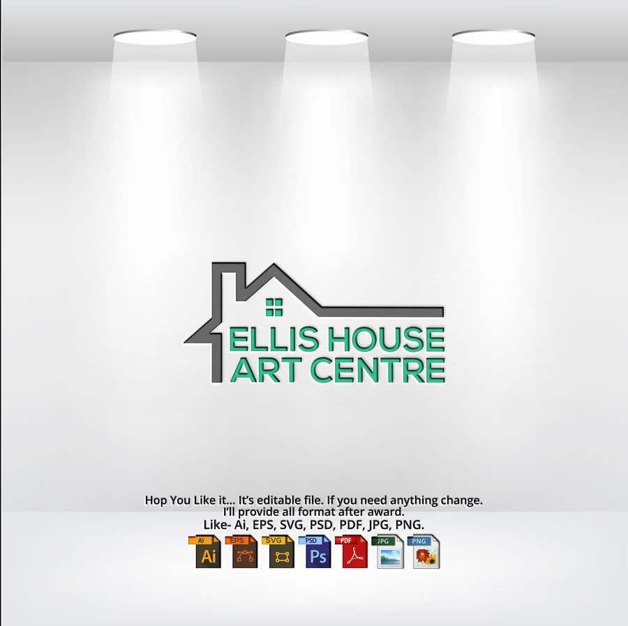 """Intrarea #                                        320                                      pentru concursul """"                                        Logo Design - Ellis House Art Centre                                     """""""