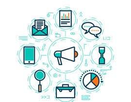 #18 untuk Topical vector graphics for marketing - Good design match will lead to more work! oleh freelancerrina6