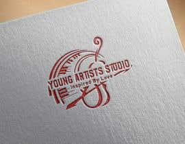 #40 pentru Logo design for Young Artists Studio de către rehanamhb
