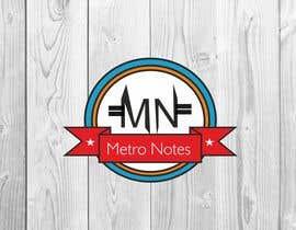#21 for Design a Logo for Metronotes af jayeshjain9314