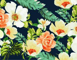 #15 для Graphic design for floral print to be used on fabric от noshinfariaprova