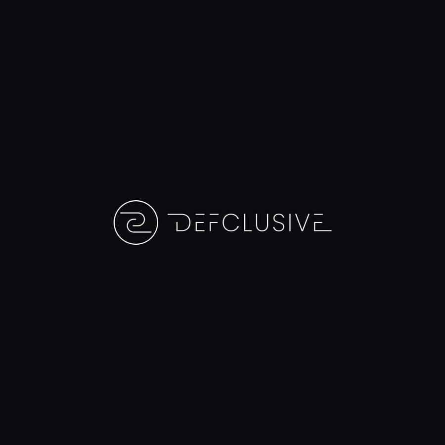 Kilpailutyö #1132 kilpailussa Defclusive needs a logo!