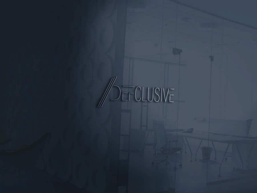 Kilpailutyö #1832 kilpailussa Defclusive needs a logo!