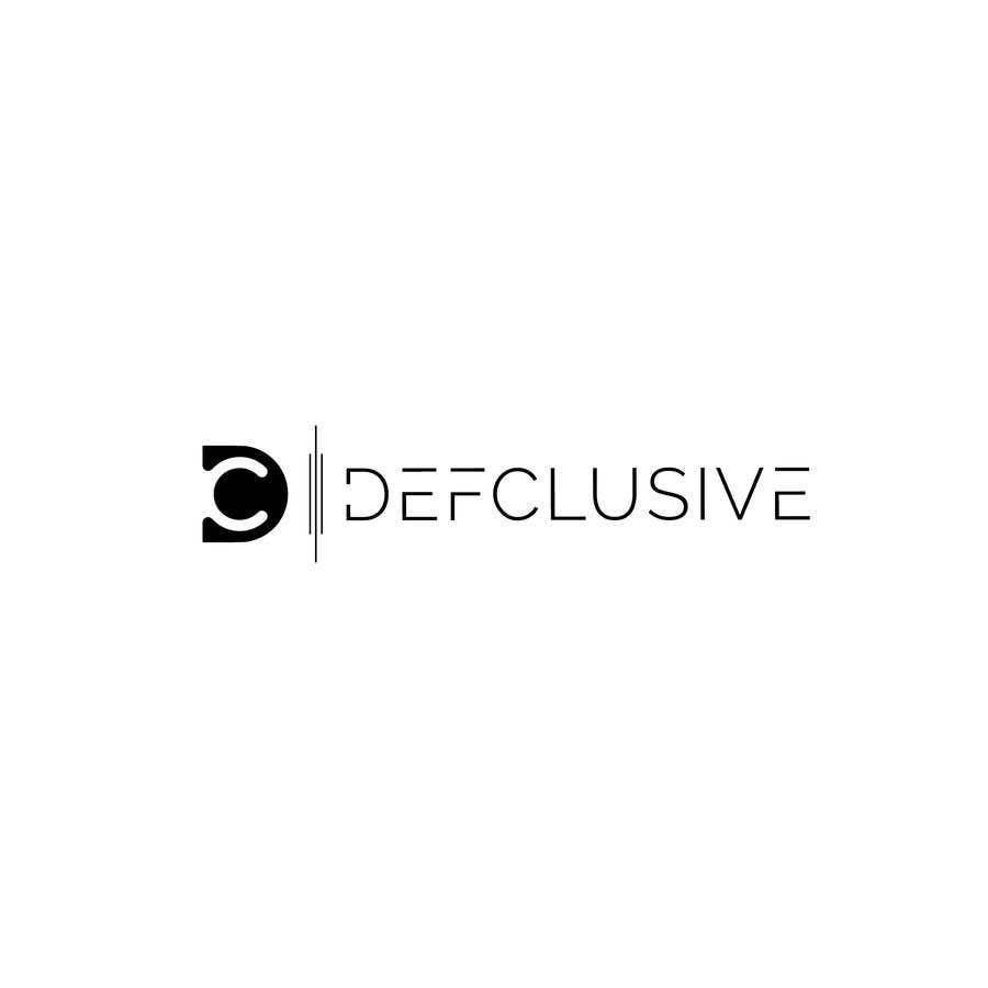 Kilpailutyö #1814 kilpailussa Defclusive needs a logo!