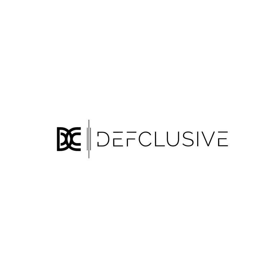 Kilpailutyö #1818 kilpailussa Defclusive needs a logo!