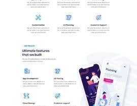 nº 121 pour New IT company needs a website design par sirajkhan1992