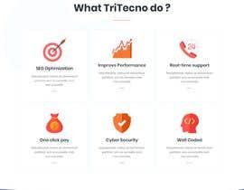 nº 123 pour New IT company needs a website design par zzzznaz