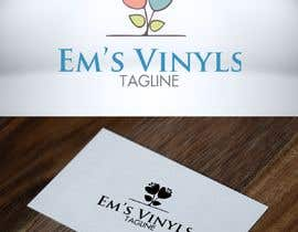 "#22 untuk I want a logo that says ""Em's Vinyls"" I want it to be feminine. I love the colors olive green, and white. I love boho and farmhouse style. I am using this logo for my business of vinyl cups, tshirts, car decals, etc.  - 17/11/2019 12:37 EST oleh DesignTraveler"