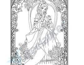 #9 для B & W Coloring book page in style of Moebius от berragzakariae