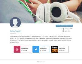 #15 cho Single webpage for user profiles bởi jqueryfinder