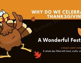 "#12 for A CANVA Presentation On ""Why Do We Celebrate Thanksgiving?"" by SamanWaheed"