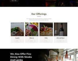 #16 untuk Website Design For a Bar and Steakhouse oleh chiku789