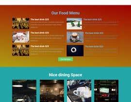 #14 untuk Website Design For a Bar and Steakhouse oleh imranjohan
