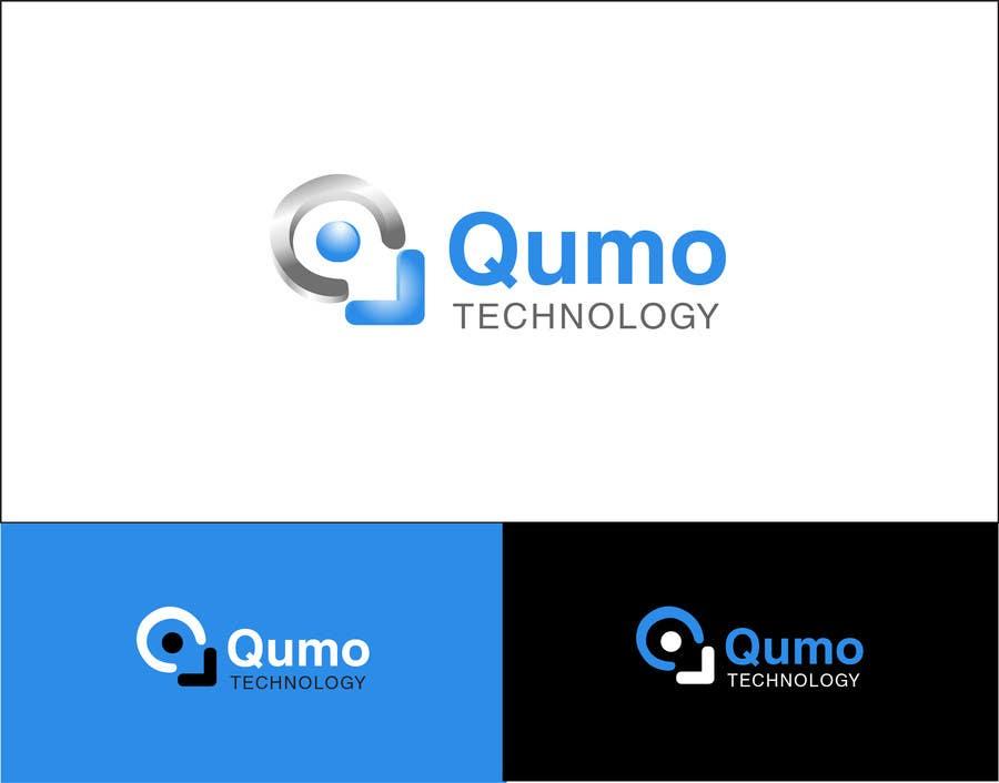Kilpailutyö #                                        77                                      kilpailussa                                         logo design Qumo technology