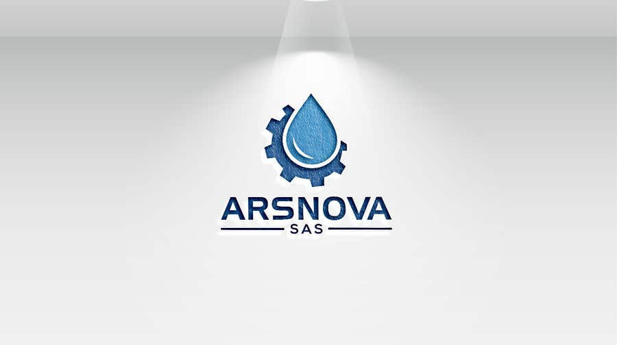 Kilpailutyö #414 kilpailussa Updating/Restyling Logo for a water treatment company