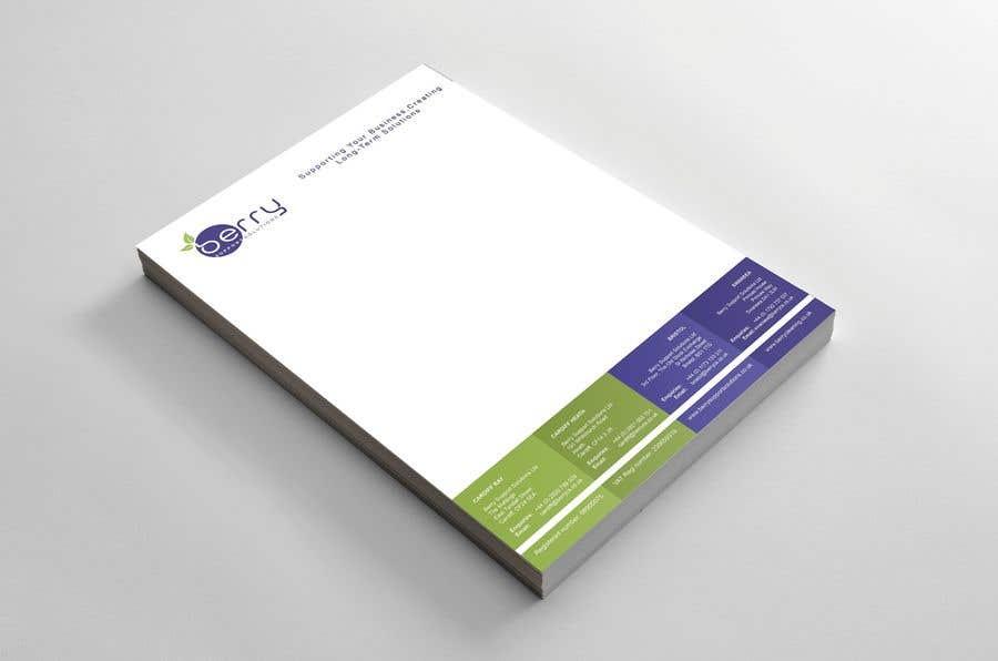 Bài tham dự cuộc thi #83 cho Design letterhead for business
