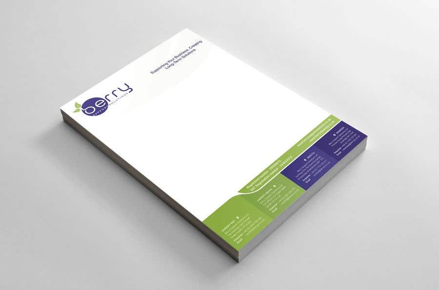 Bài tham dự cuộc thi #79 cho Design letterhead for business