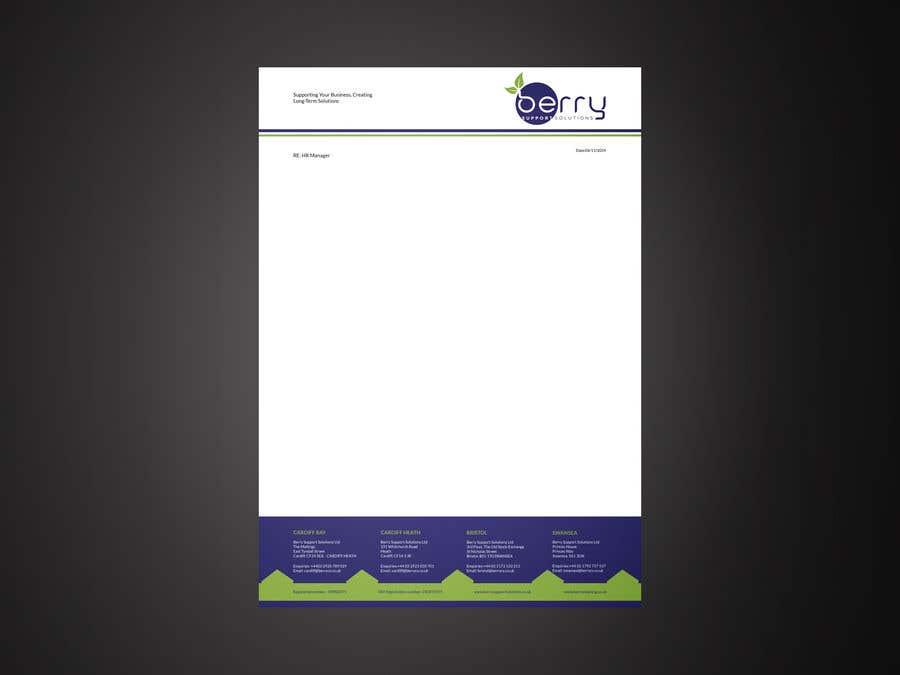 Bài tham dự cuộc thi #89 cho Design letterhead for business