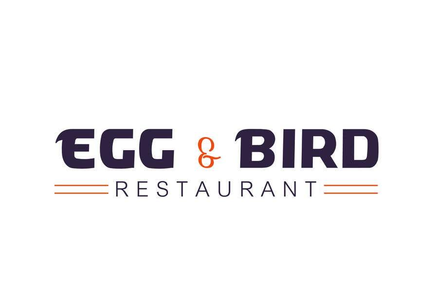 Penyertaan Peraduan #356 untuk Design Restaurant Name for exterior signage