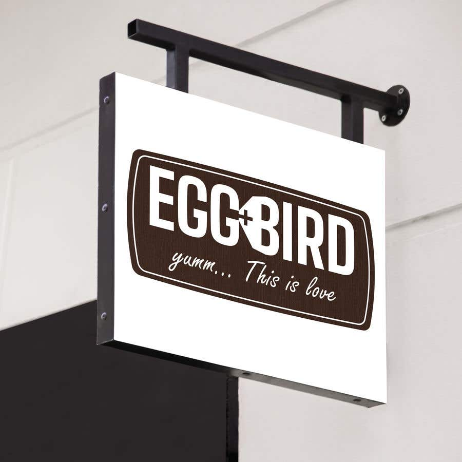 Penyertaan Peraduan #117 untuk Design Restaurant Name for exterior signage