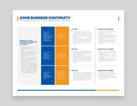 elgu tarafından Design a 1-page business process from existing content için no 18