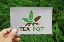 Logo design for tea cannabis company için Logo Design115 No.lu Yarışma Girdisi
