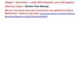 whetstoneedits tarafından Write a brand story for my product category—Beauty için no 38