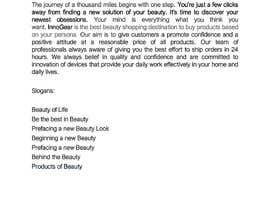 borobari tarafından Write a brand story for my product category—Beauty için no 25