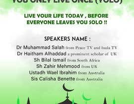 ARKamaldeen tarafından Poster for a Islamic Conference için no 62