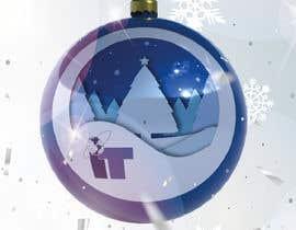 #79 cho Design Christmas logo and Christmas card in blue colors bởi dorotasosnowka