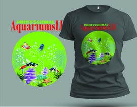 #20 cho T-Shirt Design (Aquarium Business) bởi miltonbhowmik1