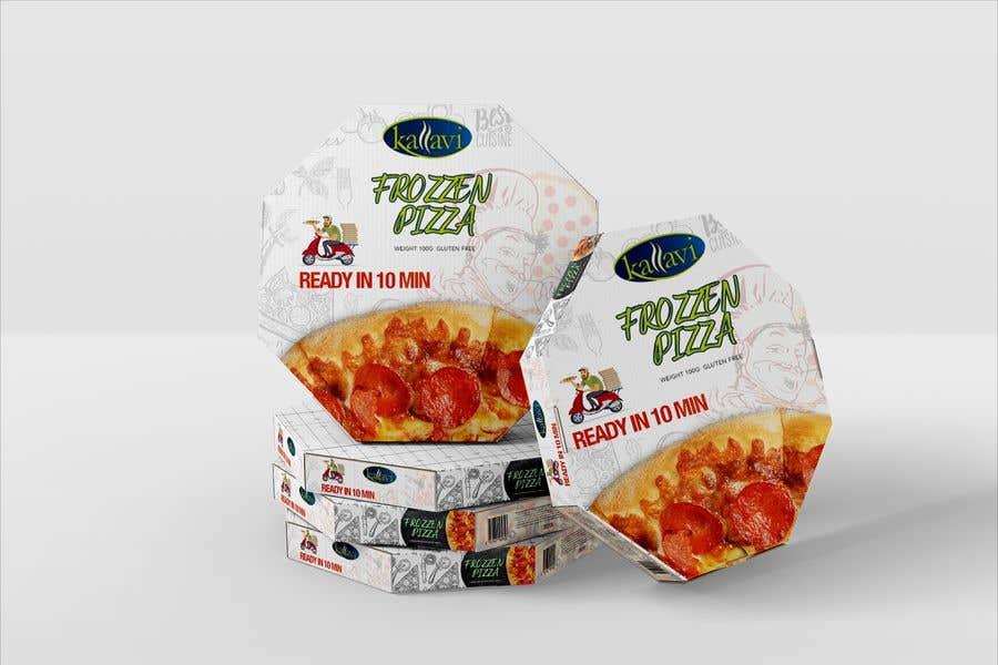 Penyertaan Peraduan #18 untuk Pizza Packaging Design