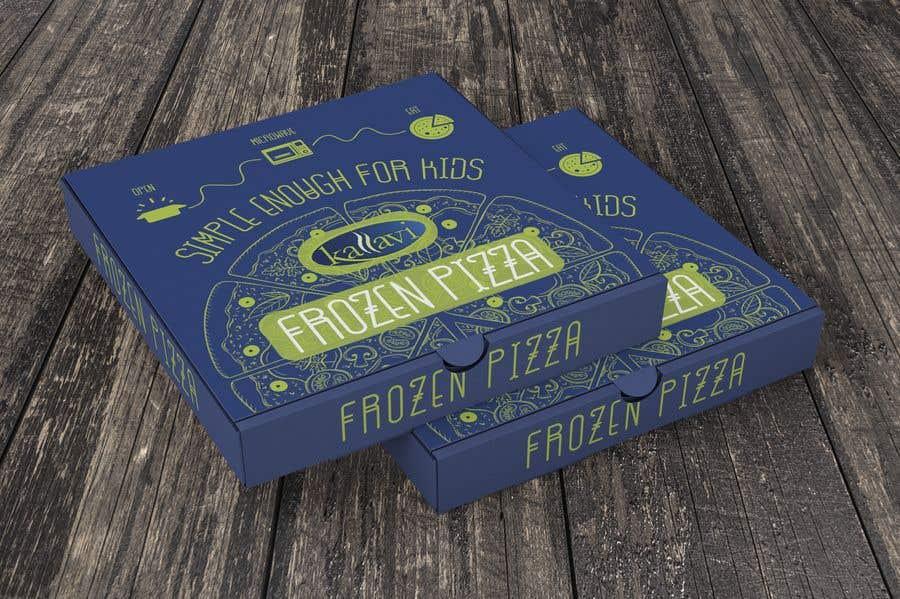 Penyertaan Peraduan #12 untuk Pizza Packaging Design