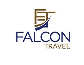 #175 untuk Logo design for new travel and tourism company selling travel tickets, hotel booking, and other tours .  Name of company is FALCON TRAVEL oleh stcserviciosdiaz