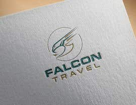 #166 untuk Logo design for new travel and tourism company selling travel tickets, hotel booking, and other tours .  Name of company is FALCON TRAVEL oleh culor7