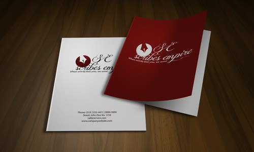 #72 for Logo Design for A writing Firm by rogeriolmarcos