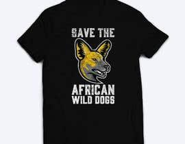 mdminhajuddin tarafından Graphic Design for Endangered Species - African Wild Dogs için no 4