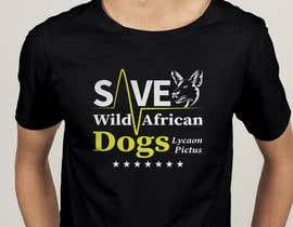 #77 для Graphic Design for Endangered Species - African Wild Dogs от mdyounus19