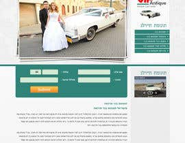 #3 for Website Design for 1 page (Antique Cars rental) af nhany