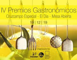 #16 untuk DISEÑO DE CARTEL PREMIOS GASTRONÓMICOS oleh Caesarcv