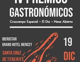 #63 untuk DISEÑO DE CARTEL PREMIOS GASTRONÓMICOS oleh EIIIIII